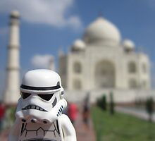 Dave Stormtrooper  Taj Mahal India by apawdesign