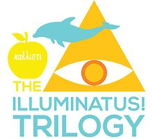 The Illuminatus! Trilogy by ubikdesigns