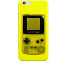 Gameboy Colour-Yellow iPhone Case/Skin