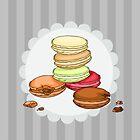 Macarons || ScarlettDesigns by ScarlettDesigns
