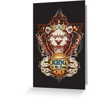 King of the Game Greeting Card