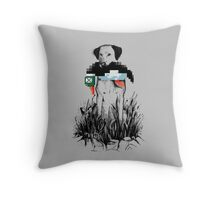 Famous Hunters Throw Pillow