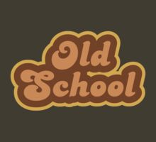 Old School - Retro 70s - Logo by graphix
