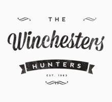 The Winchesters Vintage Logo 3 by hahahahaleigh