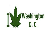 I Love Washington D.C.   by Ganjastan