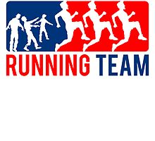 Zombies Hate Fast Food Running Team by Style-O-Mat