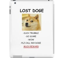 Lost DOGE iPad Case/Skin