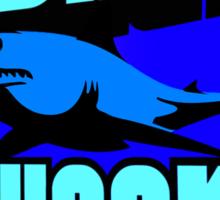 Shark week T Shirt. Sticker