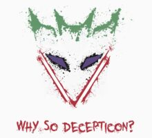 Why So Decepticon Kids Clothes