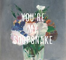you're my soupsnake by benknope