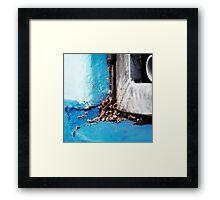 { Corners: where the walls meet #08 } Framed Print
