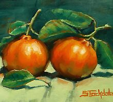 First Mandarins of the Season by Margaret Stockdale