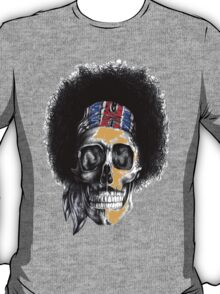 Hendrix Skull in color T-Shirt