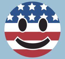 USA Smiley Face Kids Clothes