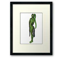 Being Green Framed Print