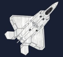 F22 Stealth Fighter Jet by quark