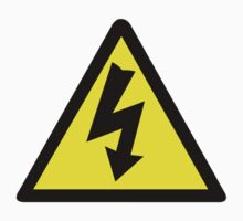Electrical Warning Symbol by sweetsixty