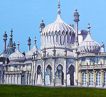 Brighton Pavilion by Paula Oakley