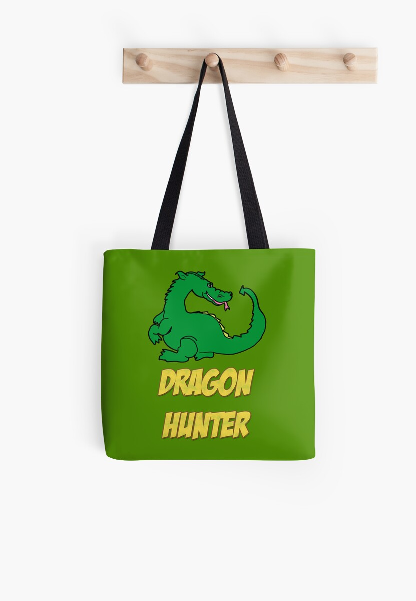 Dragon Hunter Tee Shirt by GenialGrouty