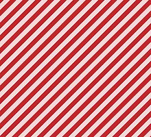 Red Stripes by TamiArtGallery