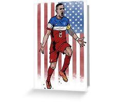 Dempsey USA flag Greeting Card