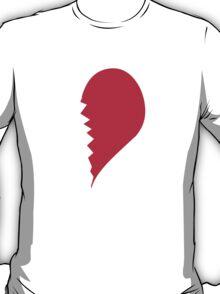 Broken Heart Right T-Shirt