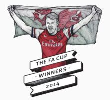 Ramsey FA cup winners by Ben Farr