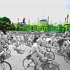 Naked Bike Ride by Emma Bennett