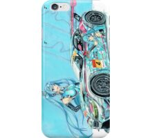 2013 GSR BMW Z4 GT3 iPhone Case/Skin