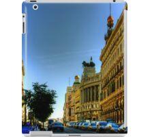 Calle de Alcalá, Madrid iPad Case/Skin