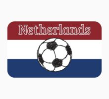 The flag of the Netherlands | Football by piedaydesigns