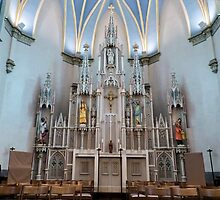 Cathedral of Saint Andrew - Reredos by Francis LaLonde