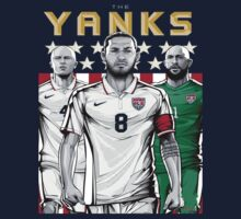 Yanks USA World Cup Shirt by Jeffrey Garcia