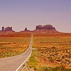 Monument Valley - Arizona/Utah by Buckwhite