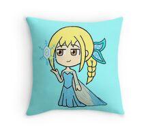 Dynasty Warriors x Frozen - Wang Yuanji x Elsa Throw Pillow
