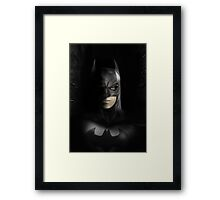 Batman, Darkest Gotham Framed Print