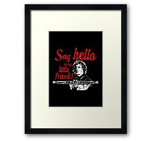 Say Hello to my Little Crossbow Framed Print
