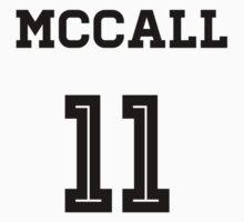 McCall Lacrosse Jersey by Teen Merchandise