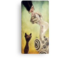 Temptation-A Tasty Morsel Metal Print