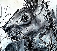 Rabbit Caught In Headlights by GeorgieGipps41