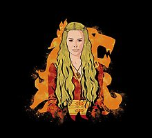 Cersei is power pad by EdWoody