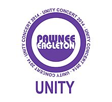 Pawnee Eagleton Unity Concert 2014 Photographic Print