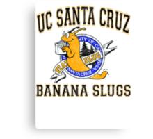 UC Santa Cruz Banana Slugs Canvas Print