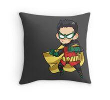 Batman & Robin || Damian Wayne Throw Pillow