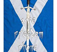 aye freedom phone..tae celebrate Bannockburn by joak