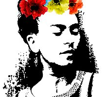 Frida Kahlo by Proyecto Realengo