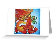 Clownfish Mermaid Greeting Card