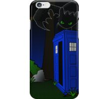Toothless and The Tardis iPhone Case/Skin