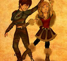 "How to Train Your Dragon 2 ""For the Dancing and the Dreaming"" by nutella-fandom"