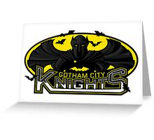 Gotham City Knights Greeting Card